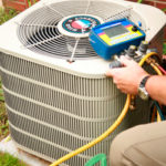 AC Service - Checking Freon Level